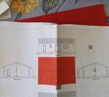 Voici le plans de ma maison avec les 5 angles de vue...