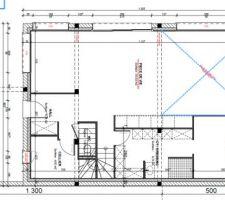 Plan constructeur avant-projet RDC