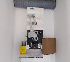 Pose VMC toilettes bas suite étude thermique