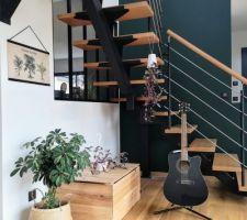 La déco sous escaliers de Thorgard + 11 autres photos