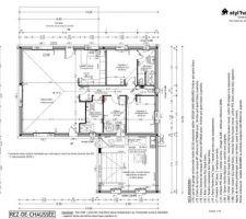 Plan intérieur de notre maison