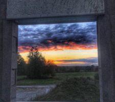 Coucher de soleil d'automne : cette jolie vue annonce des heures et des heures de contemplation !