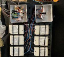 Rangement et raccordement des transformateurs