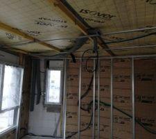 Préparation électricité et VMC