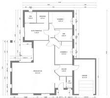 Voici les plans de notre maison qui devrait voir le jour l?an prochain ?