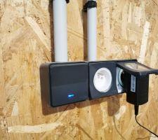 Boîtier électrique étanche pour le garage