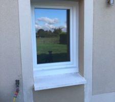 Remplacement de la porte de service de la buanderie par une fenêtre