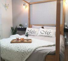 Suite  avec lit baldaquin
