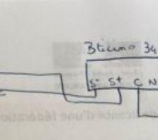 Branchements visio/moteur
