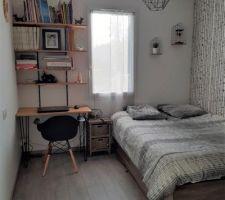 Nouveau lit et DIY bureau