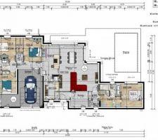 Photo de notre maison vu de haut avec l'agencement des différentes pièces