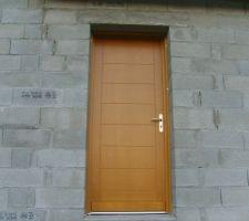 Porte d'entrée;trop classe!