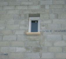 Menuiserie des wc