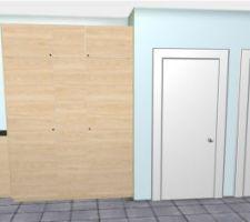 Idée du meuble dans le couloir