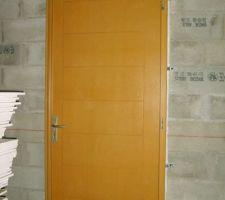 Porte d'entrée de l'intérieur