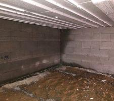 humidité sous vide sanitaire