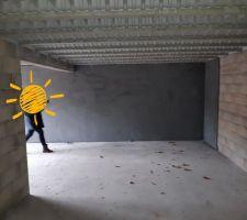 Le sous-sol vu de l'escalier