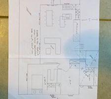 Voici le plan que j?ai moi même dessiné pour que le dessinateur puisse nous éditer les plans. Si vous avez des remarques je suis preneuse merci à vous