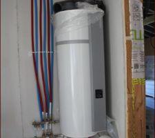 Chauffe eau thermodynamique et collecteurs