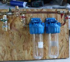 Réducteur de pression et pots à filtre