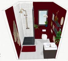 Salle d'eau du rdc Test Bordeaux