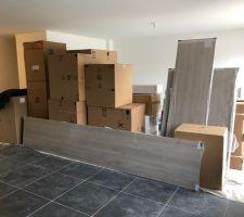 Livraison des meubles de cuisine et électroménager