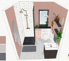 Idée Déco - salle d'eau  par Md-Laboîte