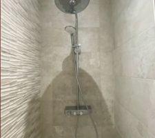 La douche.