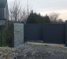 Réalisation du mur