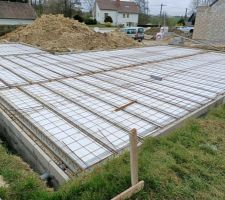 notre 1ere construction de maison