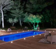 La piscine éclairée de javier1964 + 7 autres photos