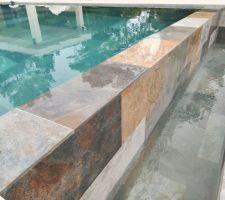 Bac à débordement piscine