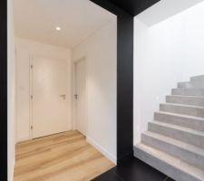 Zoom sur l'escalier