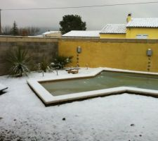 Après le gel, la neige