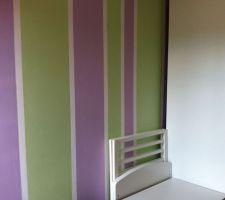 Chambre de notre petite dernière, peinture terminée