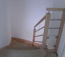 escalier vu d en haut