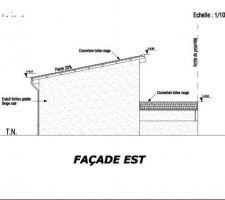 Vue façade Est
