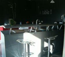 Cuisine ouverte sur le sallon/salle à manger