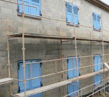 facade nord en place
