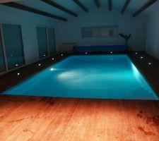 la piscine interieure terminee