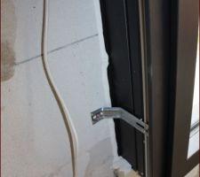 Détail : joint silicone des fenêtres