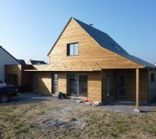maison ossature bois bioclim poele