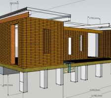 projet sous sketchup