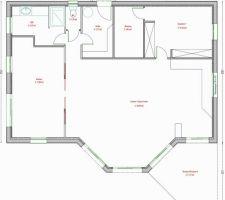 voici deja le plan definitif de notre maison