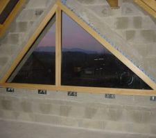 Fenêtre triangle