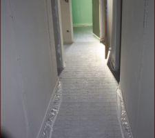 Rothaflex dans couloir RDC