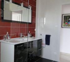 salle d eau vue depuis la douche a l italienne