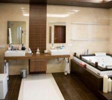 Inspiration de se thème pour notre salle de bain avec douche italienne
