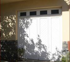 Porte de garage d'origine