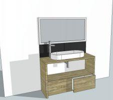 idee meuble vasque